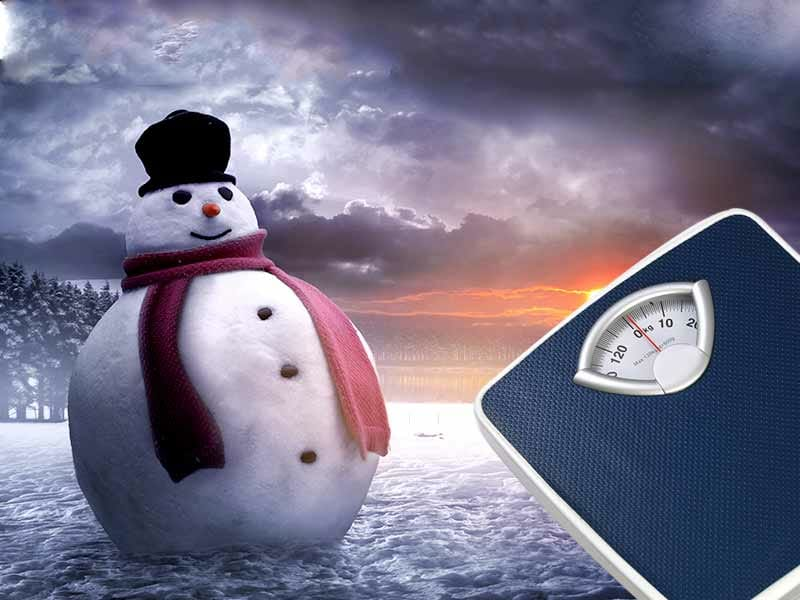 Why WINTER Leads To Weight Gain?