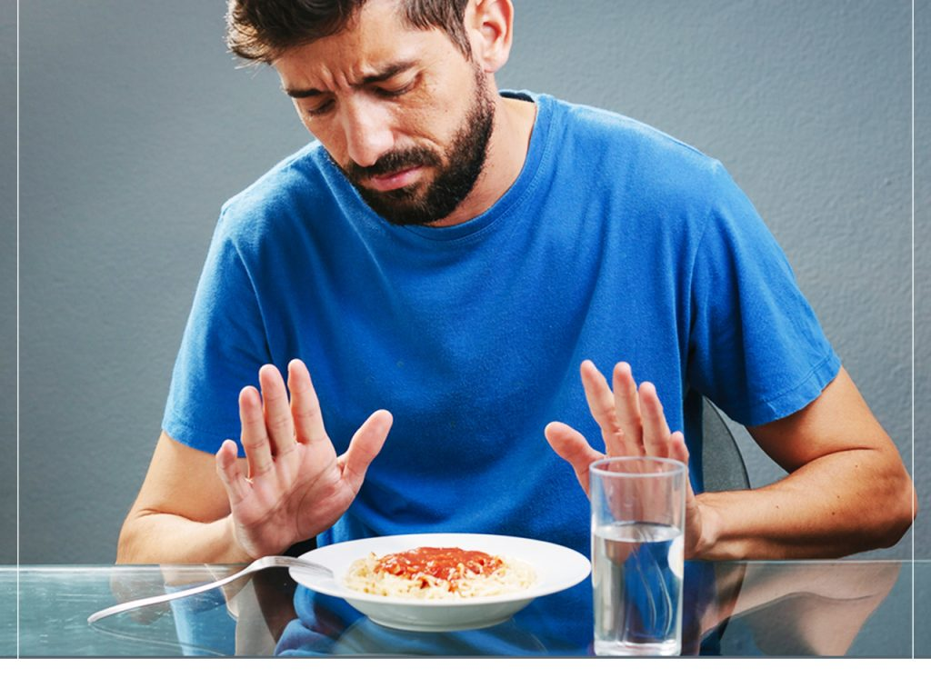 """Do you feel filled even if you had less?  Well, that could be """"Loss of Appetite"""" 