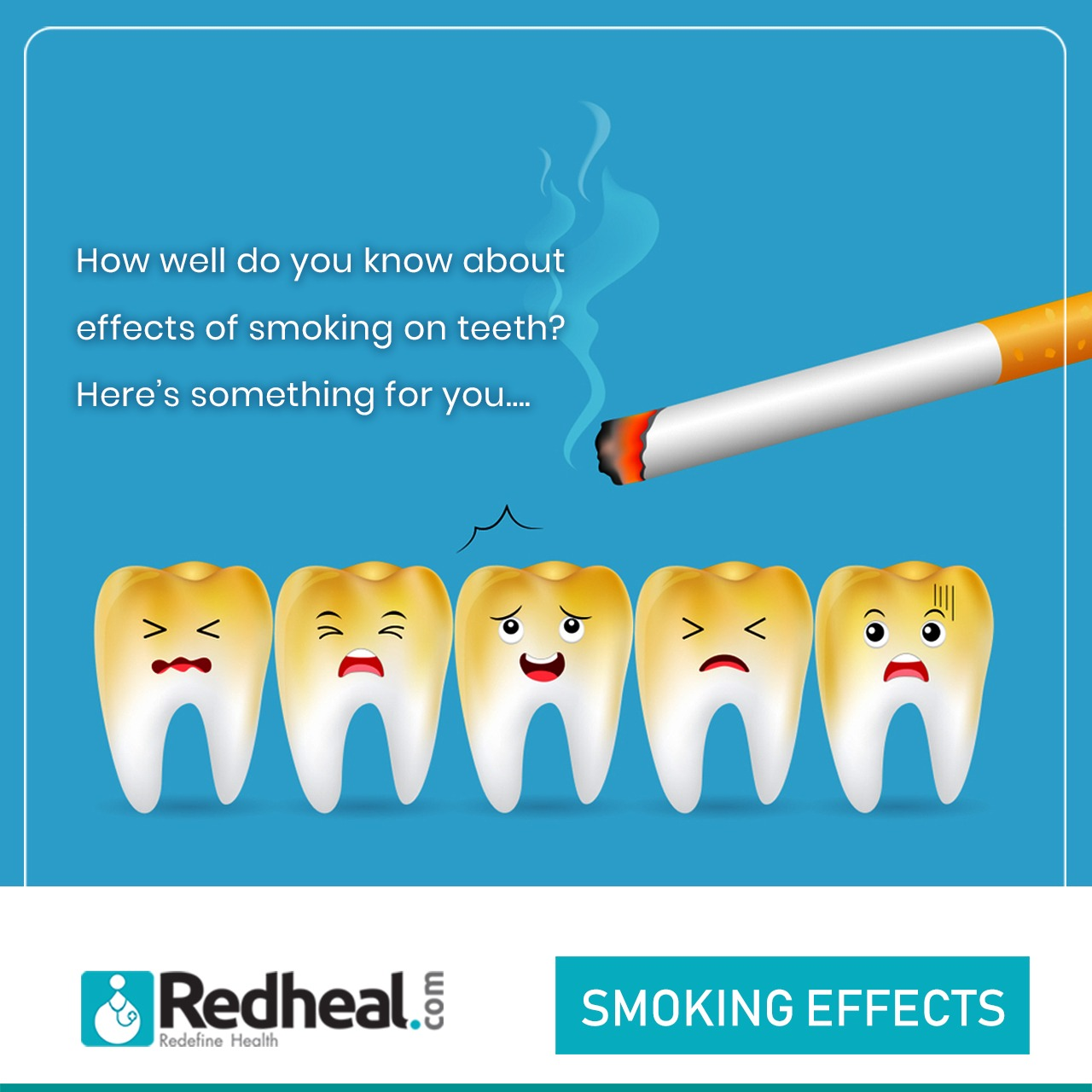 Smoking Effects on Teeth - Signs and Remedies
