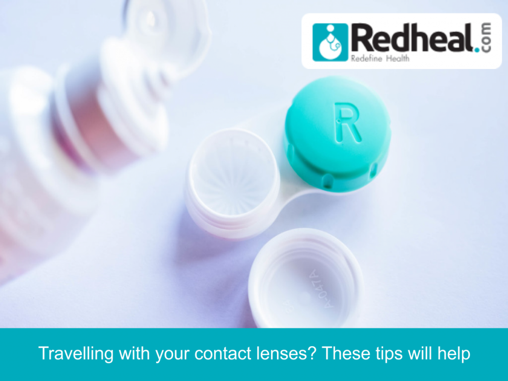 Travelling with your contact lenses? These tips will help