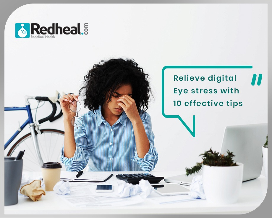 Relieve Digital Eye Stress with these 10 effective tips