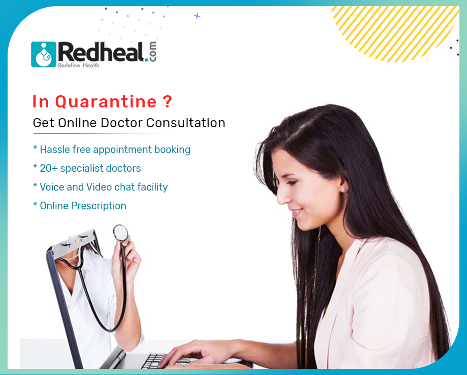 In Quarantine? Get Online Doctor Consultation.