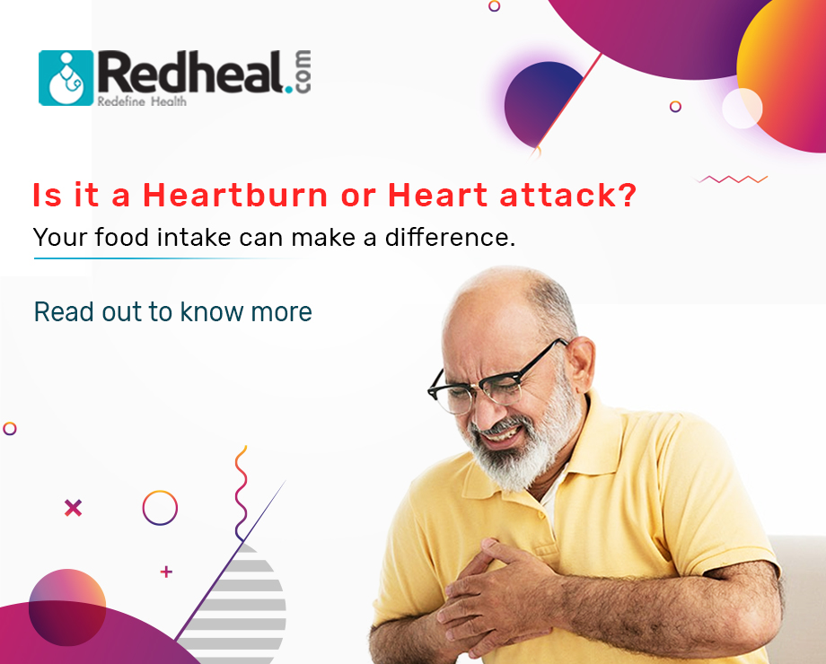 Difference between Heartburn vs Heart Attack