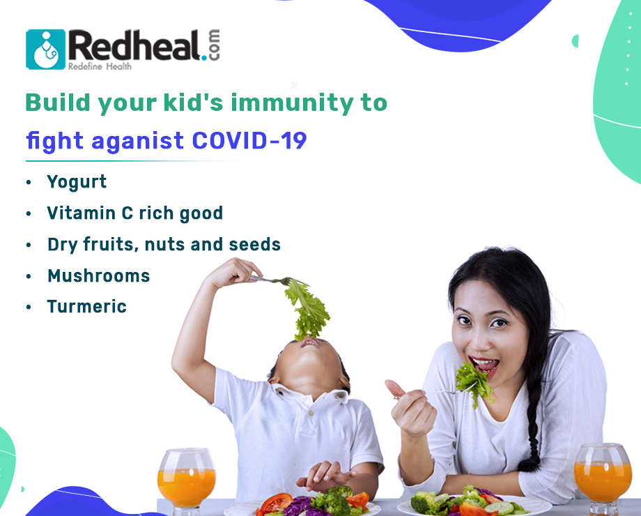 Build your kid's immunity to fight against COVID-19