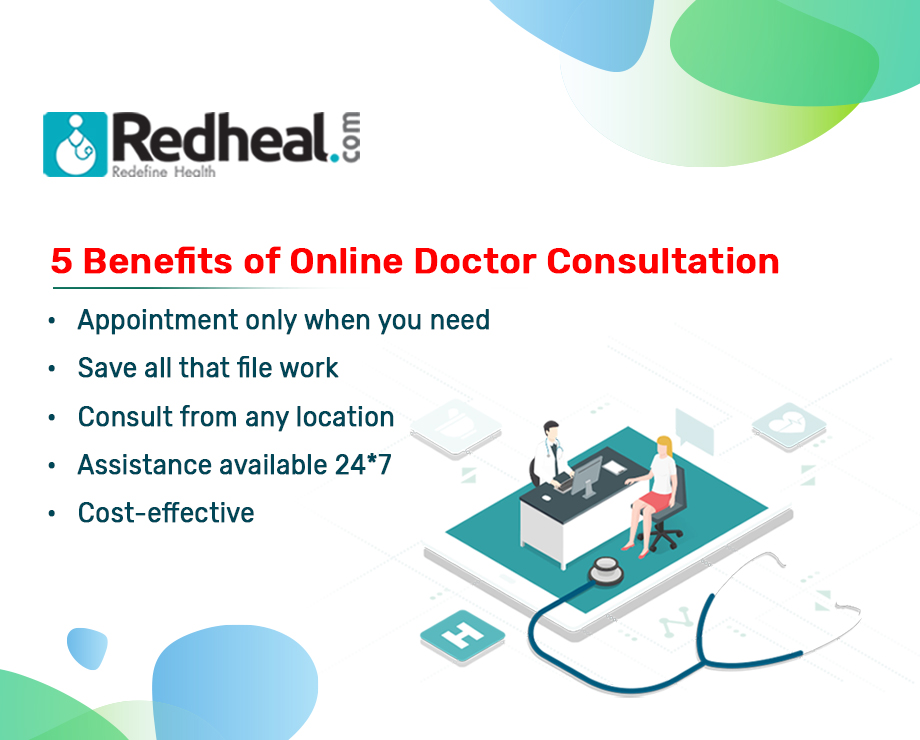 5 Benefits of Online Doctor Consultation