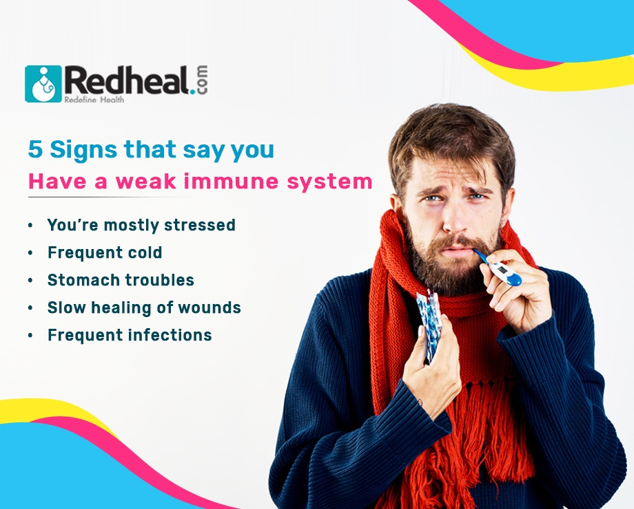 5 Signs that say you have a weak immune system