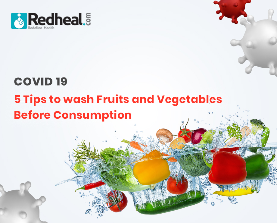 Tips to Wash Fruits and Vegetables Before Consumption