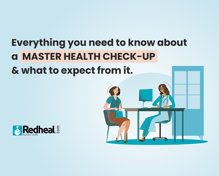 Everything you need to know about a master health check-up and what to expect from it