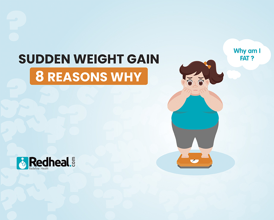 Sudden weight gain: 8 reasons why