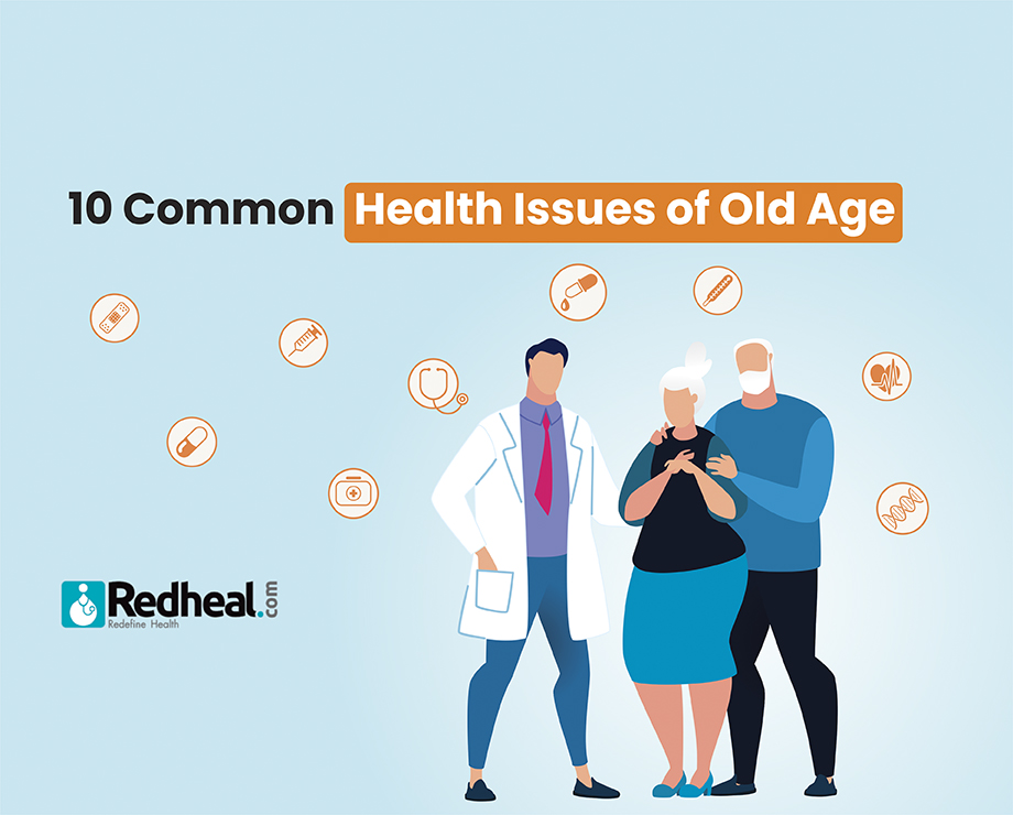 10 Common Health Issues of Old Age