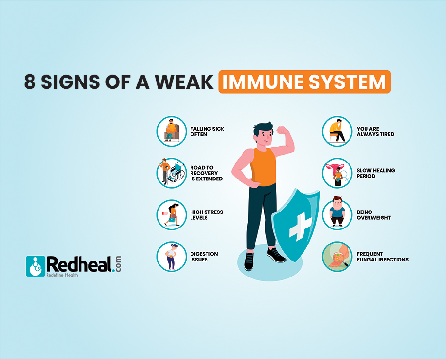 Signs of a Weak Immune System