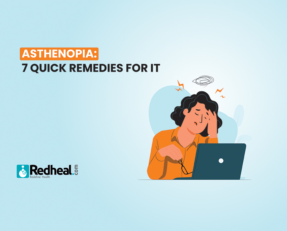 Quick Remedies for Asthenopia.