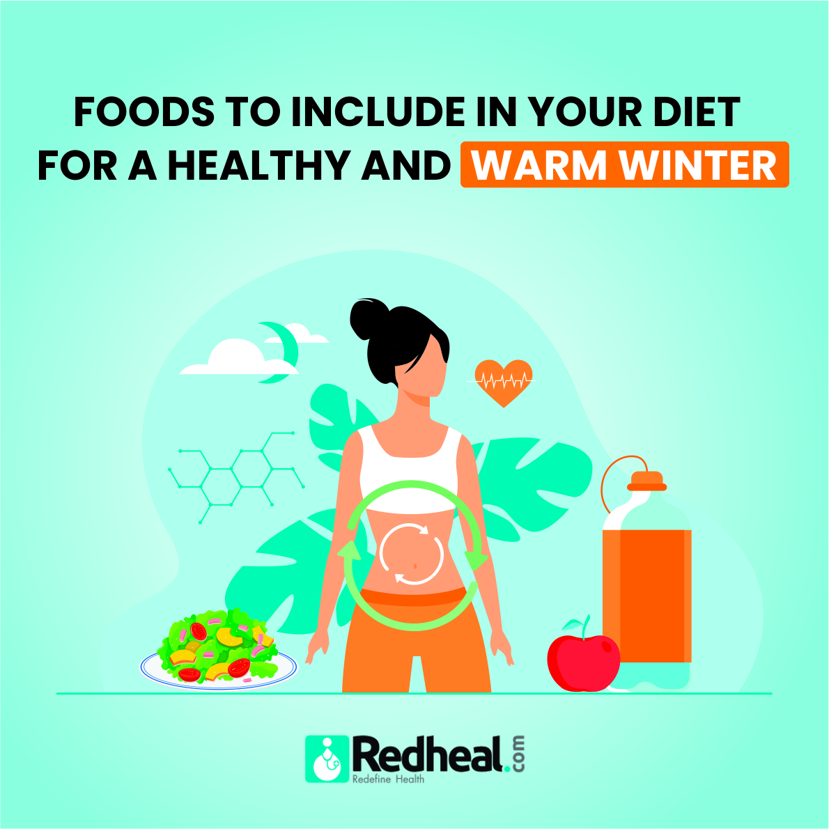Diet for a healthy and warm winter