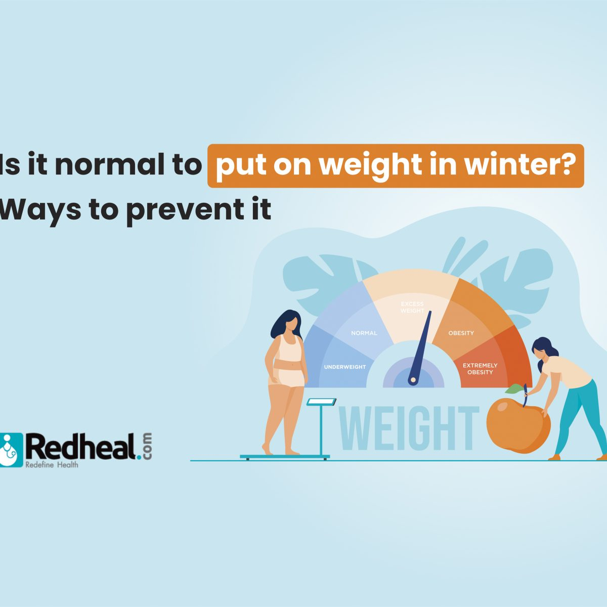 How to Prevent overweight in winter
