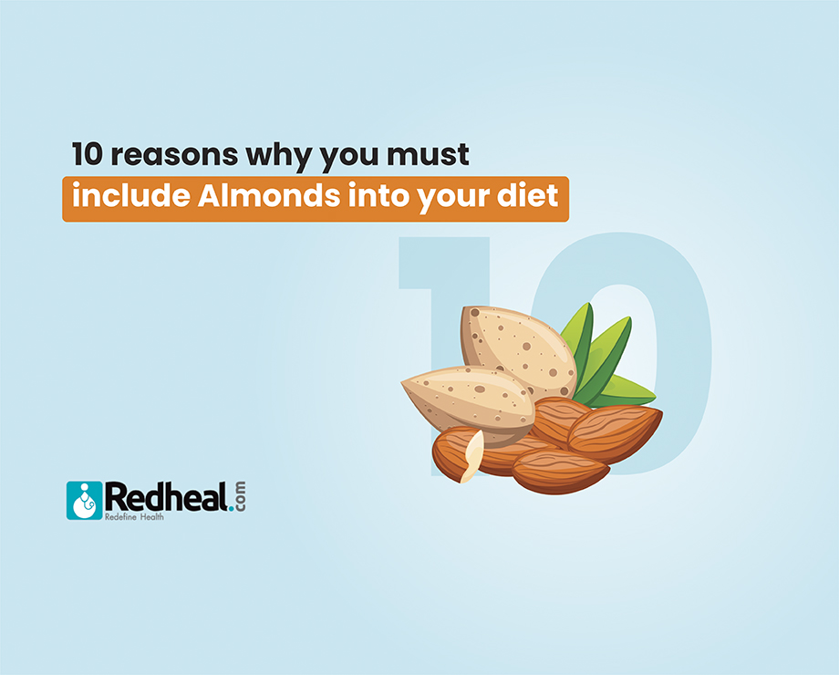 Diet plan with Almonds