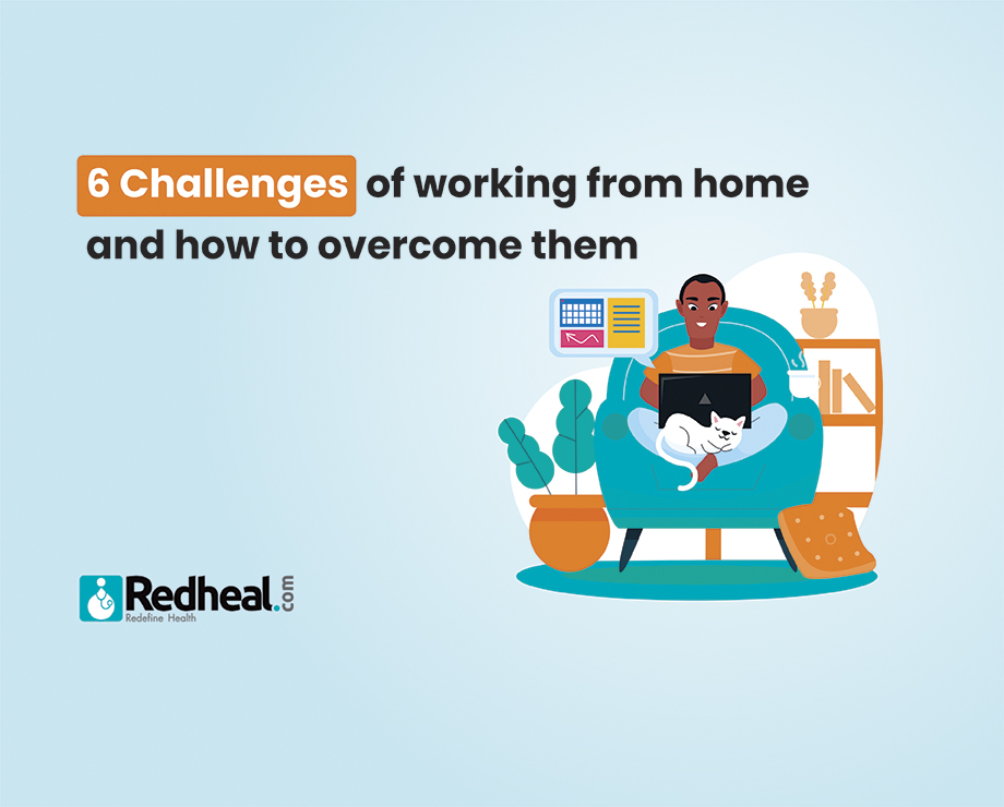 6 challenges of working from home